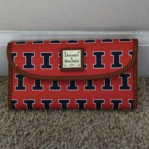 Dooney & Bourke University of Illinois Wallet